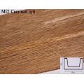 Декоративная балка из полиуретана М12 (светлый дуб) (12*6*300) модерн Уникс