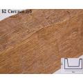 Декоративная балка из полиуретана Б2 (дуб светлый) (12*12*300) классика Уникс
