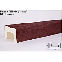 Декоративная балка из полиуретана Б1 (вишня) (9*6*300) классика Уникс