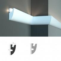 Tesori KD 304 - настенный молдинг для LED подсветки