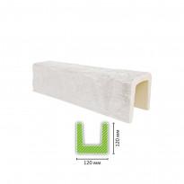 EQ 602 (3 м, белая) Балка декоративная