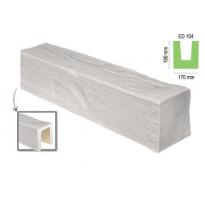 ED 104 (2 м, белая) (U) Балка декоративная