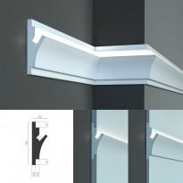Tesori KD 402 - встраиваемый молдинг для скрытой LED подсветки