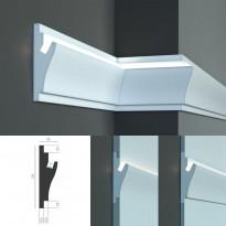 Tesori KD 403 - встраиваемый молдинг для скрытой LED подсветки