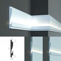 Tesori KD 404 - встраиваемый молдинг для скрытой LED подсветки