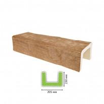 EQ 404 (3 м, светлая) Балка декоративная