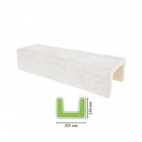 EQ 404 (3 м, белая) Балка декоративная