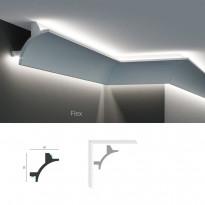Полиуретановый угловой карниз под подсветку Tesori KF 703
