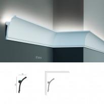 Полиуретановый потолочный карниз под подсветку Tesori KF 704