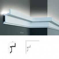 Полиуретановый потолочный карниз под подсветку Tesori KF 701