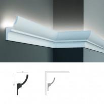 Полиуретановый потолочный карниз под подсветку Tesori KF 712