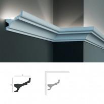 Полиуретановый потолочный карниз под подсветку Tesori KF 716