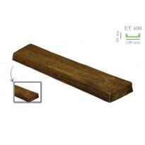 EТ 406 (2 м, тёмная) (U) Панель декоративная