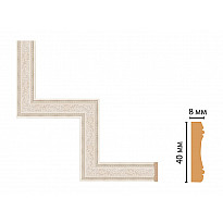 Декоративный угловой элемент Decomaster 188-1-13 (300*300)