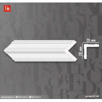 Угол Decomaster 116M-63/42 ДМ (22*22*2400 мм)