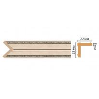 Угол DECOMASTER 116M-59ДМ (22*22*2400 мм)