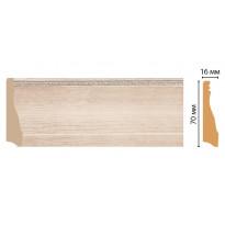 Плинтус напольный Decomaster 193-13 (70*16*2400)