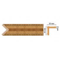 Цветной угол  Decomaster 116-4 (30*30*2400) ДМ