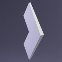3D Панель NORD platinum E-0047 Artpole