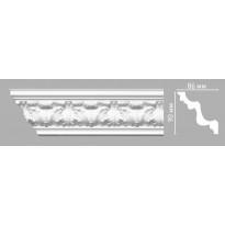 Плинтус потолочный DECOMASTER 95027/28 (90х86х2400мм)