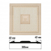 Декоративное панно Decomaster D31-18D (300*300*32)