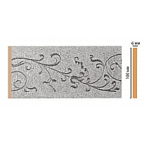 Декоративная панель DECOMASTER N10-19 (99*6*2400мм)