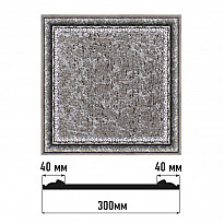 Декоративное панно Decomaster D30-44 (300*300*18)
