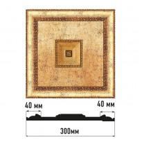 Декоративное панно Decomaster D31-552 (300*300*32)