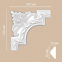 Угловой элемент 98061-1 Decomaster