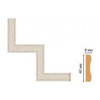 Декоративный угловой элемент Decomaster 188-1-14 (300*300)