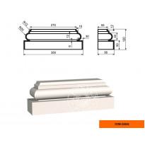 Пилястра ПЛВ-250/6 база (120х95х350)