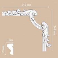 Угол декоративный DECOMASTER 97100-3R (245*245*25)