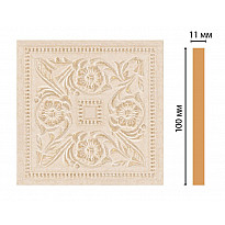 Вставка цветная Decomaster 156-2-18D (100*100*11)