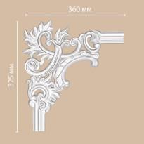 Угол декоративный DECOMASTER 97803-2L (360*325*25)