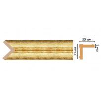 Цветной угол Decomaster 116-126 (30*30*2400) ДМ