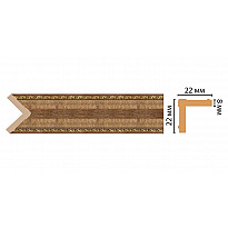 Цветной угол Decomaster 116M-3 (22*22*2400)