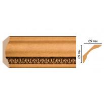 Карниз потолочный Decomaster 100C-1223 (69*69*2400)