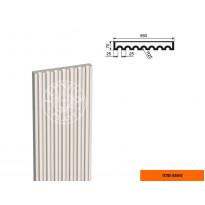 Пилястра ПЛВ-550/5 тело (2000х70х550)
