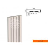 Пилястра ПЛВ-250/3 тело (2000х45х250)