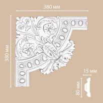 Угол декоративный DECOMASTER 98703-1 (380*380*40)