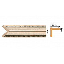 116-59/28 Угол DECOMASTER ДМ(30*30*2400 мм)