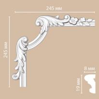 Угол декоративный DECOMASTER 97100-3L (245*245*25)