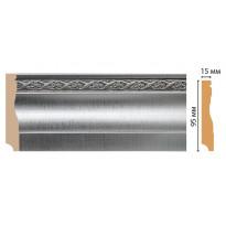 Плинтус напольный Decomaster 153-55 (95*12*2400)