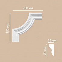 Угловой элемент 97164-2 Decomaster