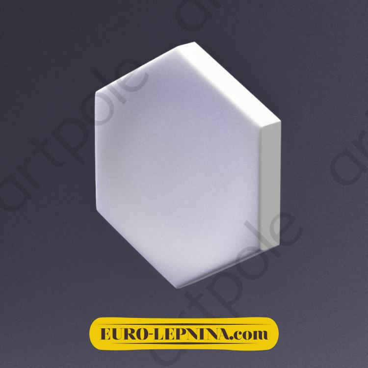 3D Панель Elementary HEKSA-button E-0004 Artpole