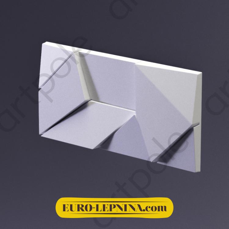 3D Панель Elementary ORIGAMI E-0001 Artpole