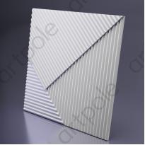 3D Панель FIELDS 2 platinum D-0008-2-pl Artpole