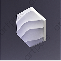 3D Панель Elementary HEKSA-wave E-0008 Artpole