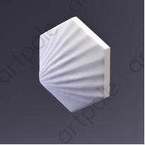 3D Панель Elementary HEKSA-shell E-0011 Artpole